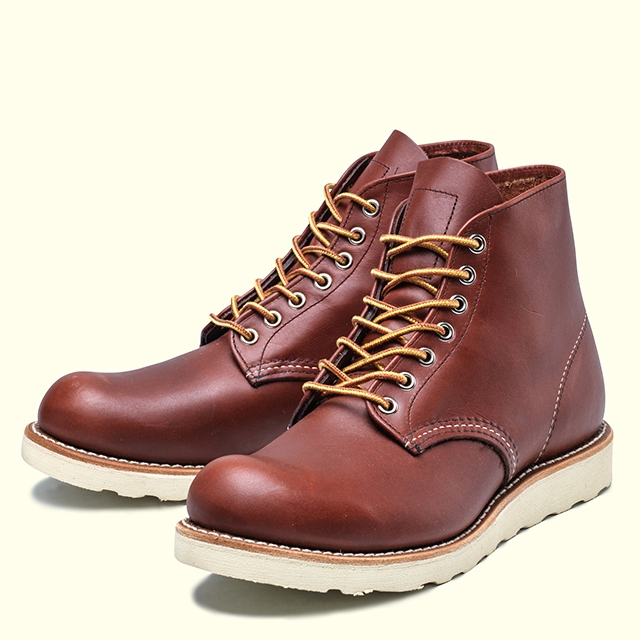 RED WING PLAIN TOE 9105