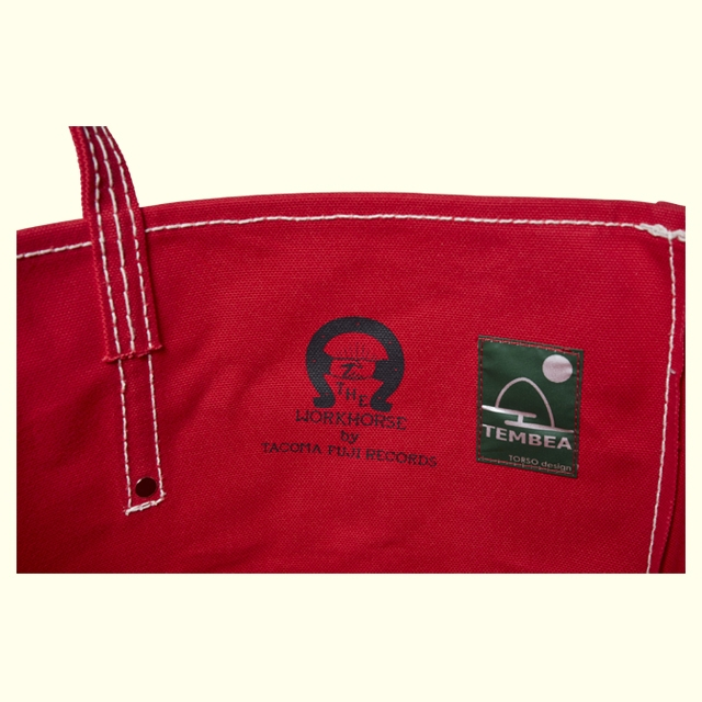 TACOMA FUJI RECORDS THE WORKHORSE LABOR BAG