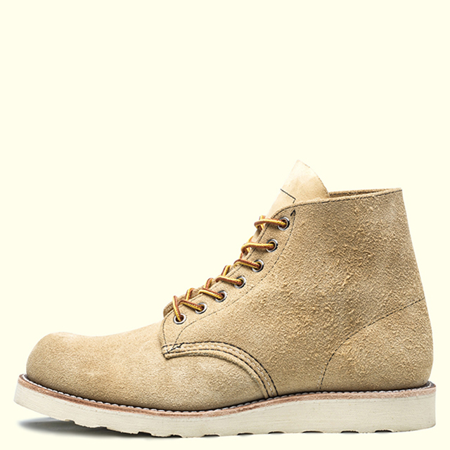 RED WING PLAIN TOE 8167