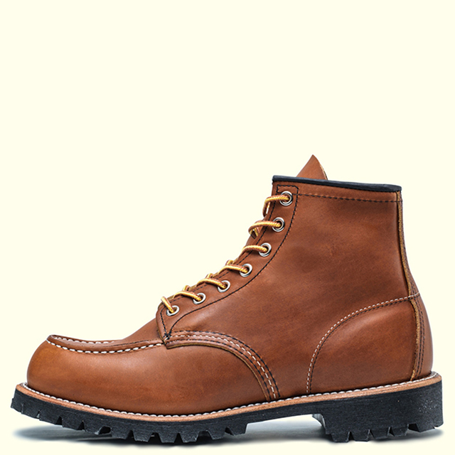 RED WING 6'' CLASSIC MOC(LUG) 8147