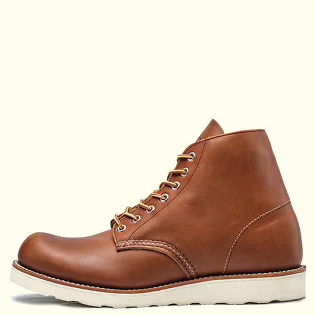 RED WING PLAIN TOE 9107