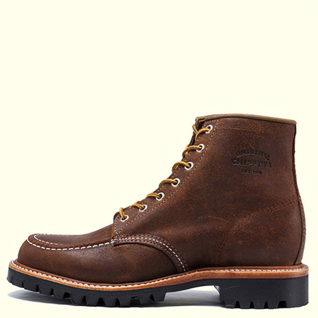 CHIPPEWA 6'' MOC LUGGED FD BOOT1901M64