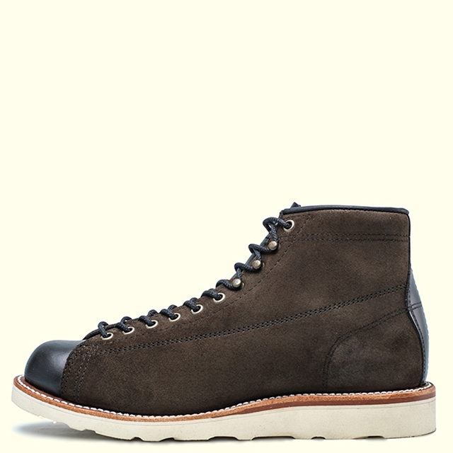 CHIPPEWA 5-IN 2-TONE SUEDE BRIDGEMEN 1901M79