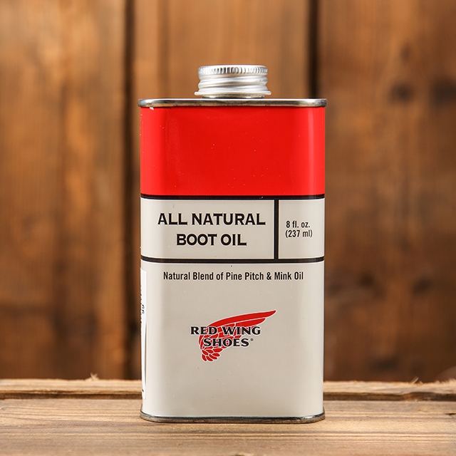 REDWING GOODS 97103 ALL NATURAL BOOTS OIL