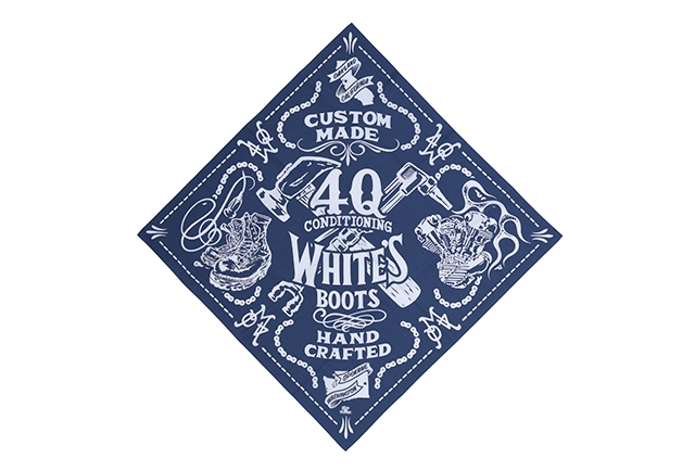 WHITE'S APPAREL 4Q WHITES BANDANA