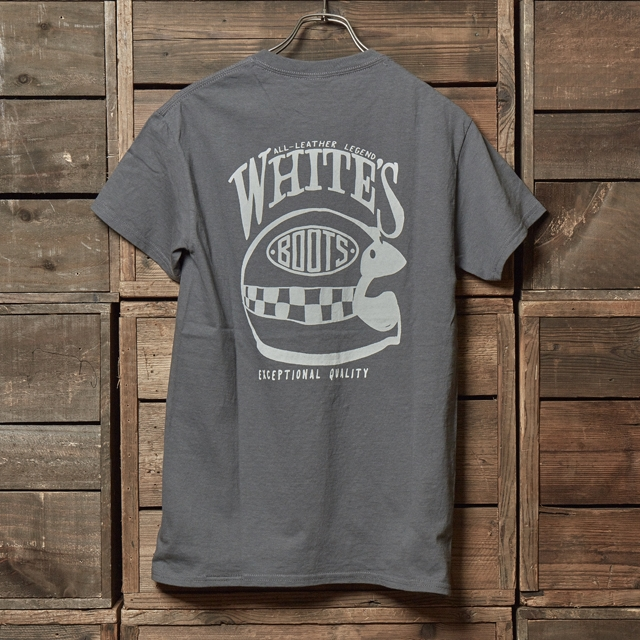 WHITE'S APPAREL Checker Helmet S/S T-Shirts