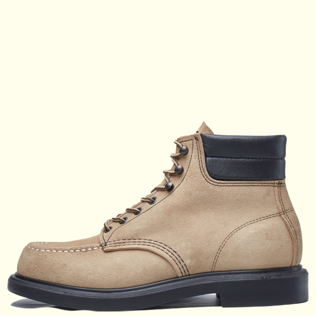 REDWING SUPERSOLE 6' MOC-TOE 8802 SAND MOHAVE